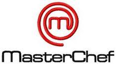 MasterChef logo machine embroidery design. Machine embroidery design. www.embroideres.com