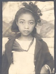 African American girl, ca 1940