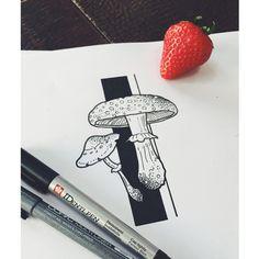 Instagram media by tilldthtattoo - ACHTUNG! Terminausfall: Heute, 17 Uhr in Magdeburg bei Eisenherz! Bei Interesse an diesem Motiv bitte direkt bei den Jungs im Shop melden! (Tel. 03915448955) oder bei Facebook. Habt einen schönen Tag  #mushroom #tattoo #sketch #wannado #herzdame #tilldth #tilldthtattoo #magdeburg #eisenherz #guestspot #terminausfall