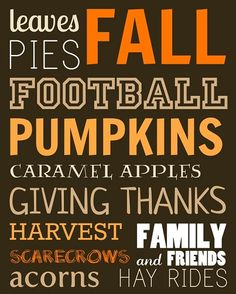 We love all these things about #fall!
