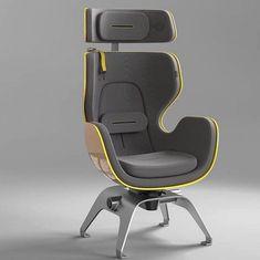 Space Furniture, Furniture Decor, Furniture Design, Car Chair, Sofa Chair, Car Interior Sketch, Interior Design, Single Chair, Upholstered Arm Chair