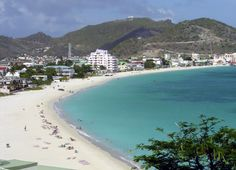 St. Marteen and St. Martin one island with a French and a Dutch Side. The French side is much nicer.