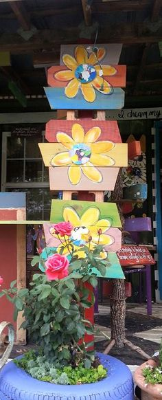 christy buchanan south carolina artist recycled wood painted pallets art in the rose