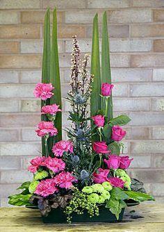 Image result for daffodil floral art arrangement