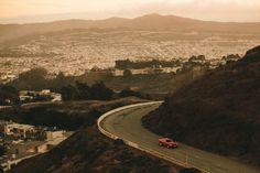 Twin Peaks - Camaro Muscle car - San Francisco  Frédéric Maciejewski http://fmaciejewski.tumblr.com/