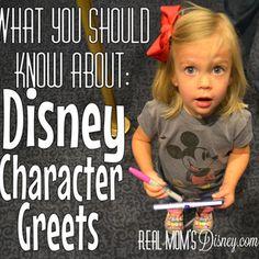 Real Mom's Disney: Disney Experience: What You Should Know About Character Greets
