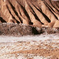 Texturas da natureza. Atacama Chile.