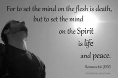 Verse of the Day: Set Your Mind on the Spirit - Romans 8:6