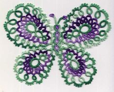 Image result for Free Butterfly Tatting Pattern