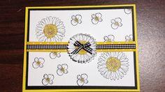 Springtime daisies using Stamping Up Reason to Smile