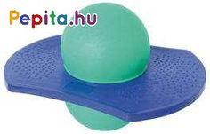 Szorítsd a lábad közé a labdát és ugrálj!Fejleszti az egyensúlyérzéket, a koordinációs készséget.Mérete: 37,5 x 30 x 26 cm.