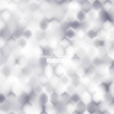 Abstract Light Gray Hexagon Background Pattern #freevectors