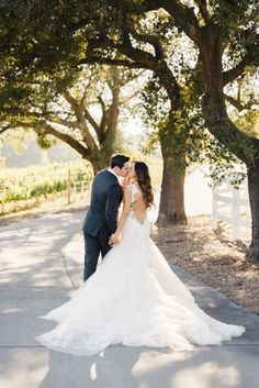 "Oh my gracious, this dress. This custom designed Galia Lahav dress is what we all dream of, and in the words of the Bride, ""I have never felt more beautiful than the moment Derek opened his eyes and saw me in it"