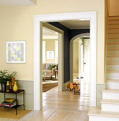 A Traditional Cape Cod Home Will Feature Wood Floors Throughout And Crown Molding Wainscoting