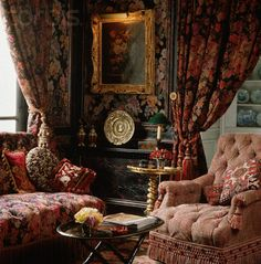 Victorian Rooms | Victorian Style Living Room - WY002491 - Rights Managed - Stock Photo ...