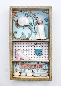 mano kellner, project 2015, kunstschachtel / art box nr 16/2015, die erzählerin - sold -