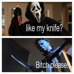 Michael Myers showing how it's really done!