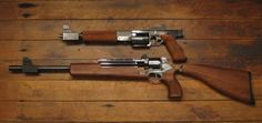 Mateba revolver carbine