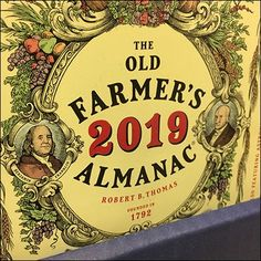 A broader range of predictions are part of this Farmer's Almanac Prognostications Now On Sale display. See the traditional Almanac, and specialty editions