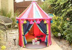 DIY Decoupage - Boho Kids Backyard Tent