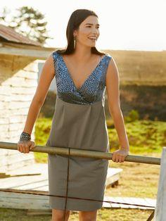 109B 062014 B_Coktailkleid_Empire-Kleid mit hoher Taillennaht