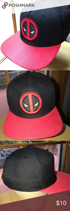 Marvel Comics Spider-Man Red Youth Big Boy/'s Snapback Hat Free Shipping NWT