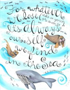 Cheryl Lacy - A hand lettered sentiment with an Alaskan theme! 11 x 14 Original acrylic on watercolor paper