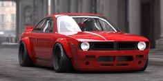 If that looks an awful lot like a 1970 'Cuda nose shrunk to 3/4 scale and grafted onto the front of a Nissan S14 (a 200SX, technically, similar to a 240SX stateside), you're not wrong.   - RoadandTrack.com