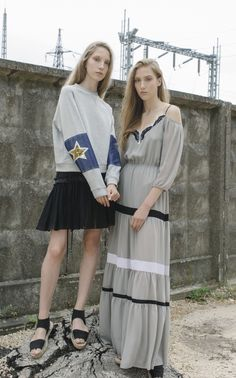 NARCISS S/S17 Sasha Sweatshirt, Aurora Skirt, Pella Dress www.narcissfashion.com #NARCISSfashion #smartfashion #spring #summer #trendalert  #ootd #styleinspiration #fashioninspo #sweatshirt #dress