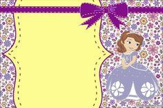 Convite Princesinha Sofia da Disney