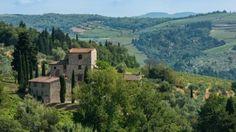 Michelangelo's villa  has eight bedrooms and seven bathrooms.