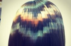 Pixelated dye is the hot new hair colour trend -Cosmopolitan.co.uk
