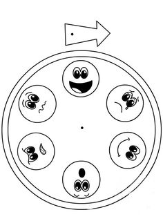 Patterns for Preparing a Kindergarten Emotions Chart - Preschool Children Akctivitiys Preschool Learning Activities, Preschool Class, Character Education, Kids Education, Middle School Counselor, Feelings And Emotions, Life Skills, Teaching, Kindergarten Preparation