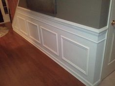 DIY Wainscoting :: Hometalk