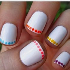 pretty cool nails totaly awesome