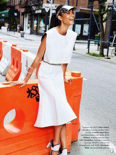 Elle Australia Chanel Iman