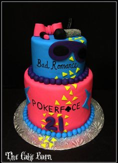 Someone should make me a cake like this for my 21st bday next year. Except cooler. :)