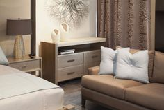 Adriana Hoyos Showroom #interiordesign #bedroom #contemporary #hoyos