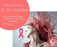 1 de cada 8 mujeres tendrá cáncer de mama a lo largo de su vida, por eso tócate a tiempo y aférrate a la vida !!! #salud #saludable #healthylife #prevencion #mujer #mamografías #mamas #cáncerdemama #diainternacionaldelcancerdemama