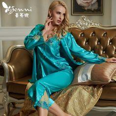 Jenni silk pyajamas