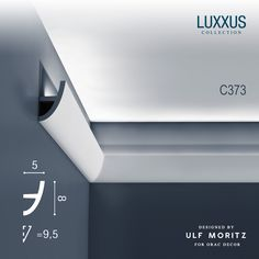 43422m ulf moritz luxxus cornice moulding indirect lighting system c364 wave lighting coving