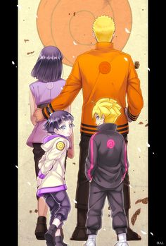 Tags: Fanart, NARUTO, Uzumaki Naruto, Hyuuga Hinata, Pixiv, Fanart From Pixiv, Uzumaki Family, Sakura Jam, Uzumaki Himawari, Uzumaki Boruto