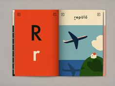 anna kovecses Letter r Hungarian alphabet book