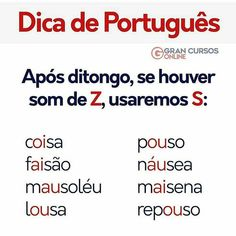 Nenhuma descrição de foto disponível. Portuguese Grammar, Portuguese Language, Learn Portuguese, Lose Fat Fast, Dyslexia, Student Life, School Organization, Study Tips, School Days