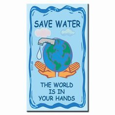 Save Nature Quotes, Save Water Poster Drawing, Water Saving Tips, Architecture Design, World Water Day, Water Signs, Water Management, Water Conservation, Energy Conservation Poster