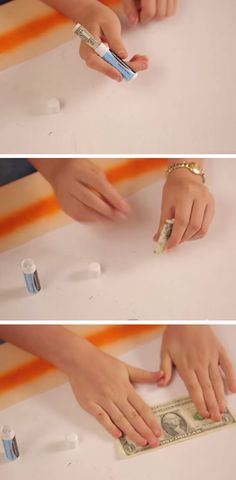 Store Cash in Empty Lipbalm Container | DIY Life Hacks for Girls for School