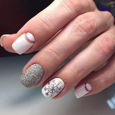 We have made a photo collection of Cute and Inspiring Christmas Nail Art Designs and we are sure that you will love them.