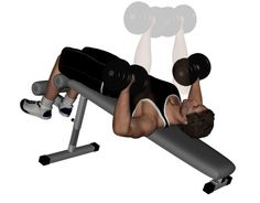 Decline Dumbbell Bench Press Exercise