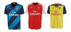 Puma apresenta novos equipamentos do Arsenal