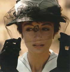 Behind the scenes of 8 1/2: Anouk Aimée